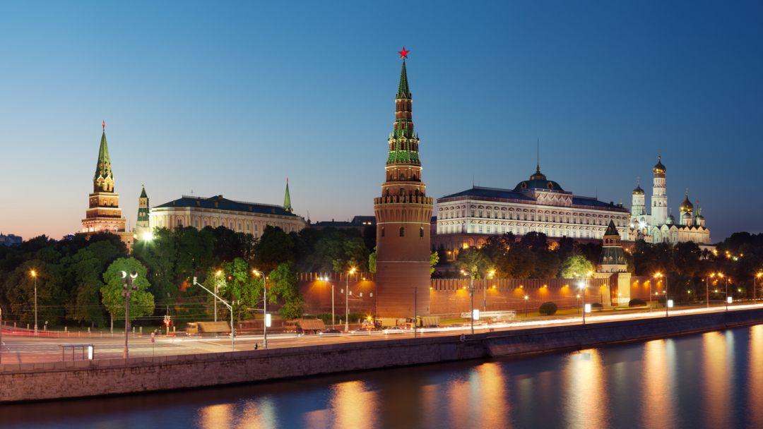 Огни большого города в Москве