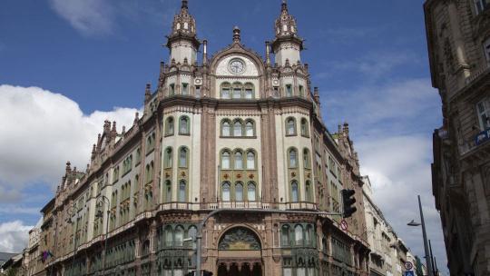 отель Парижский двор в Будапеште