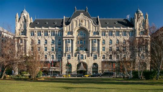 Дворец Грэшем в Будапеште в Будапеште