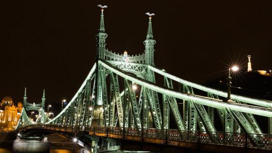 Мост Свободы в Будапеште в Будапеште