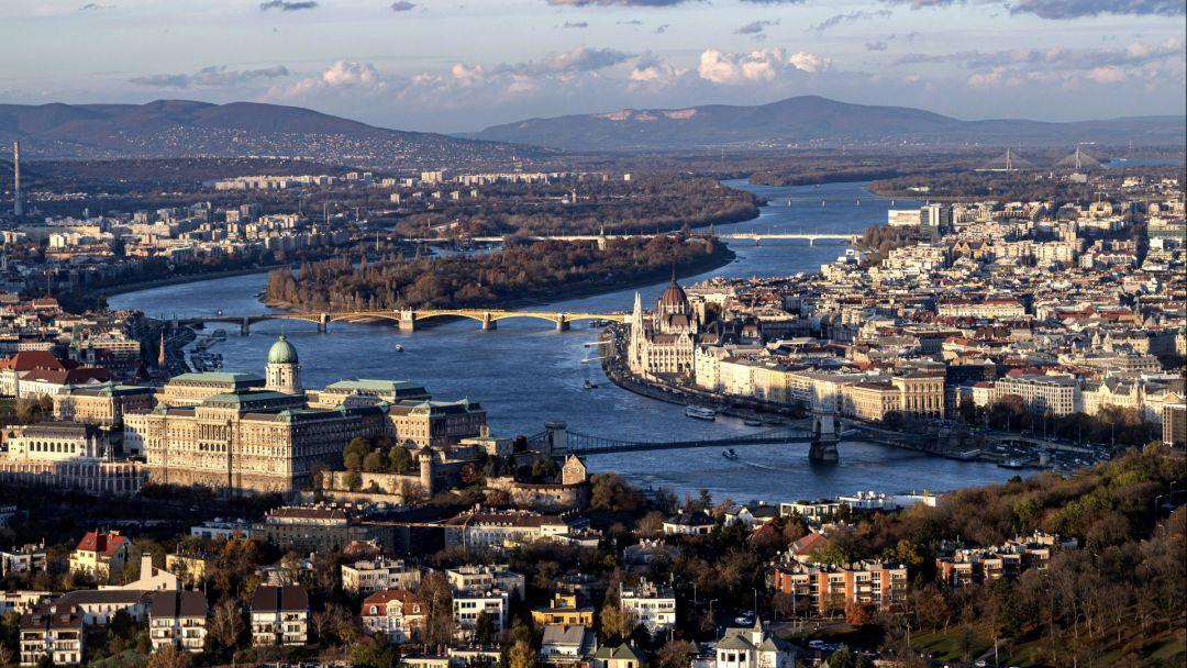 Полет на самолете над Будапештом и Сентендре - фото 5