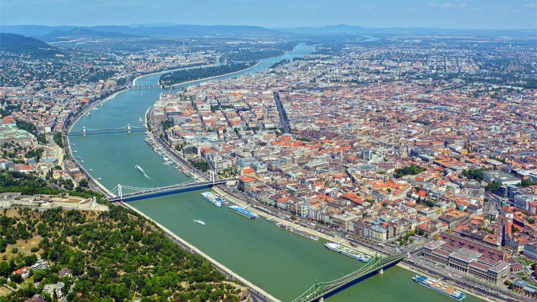 Полет над Будапештом на ВЕРТОЛЕТЕ - фото 5