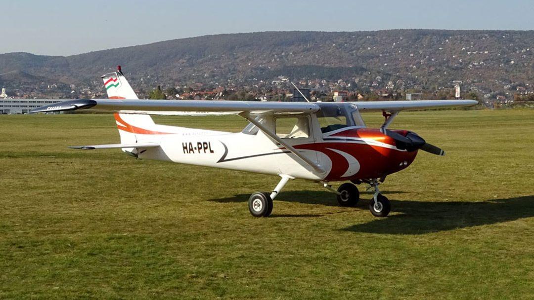 Управление самолетом в качестве второго пилота в Будапеште