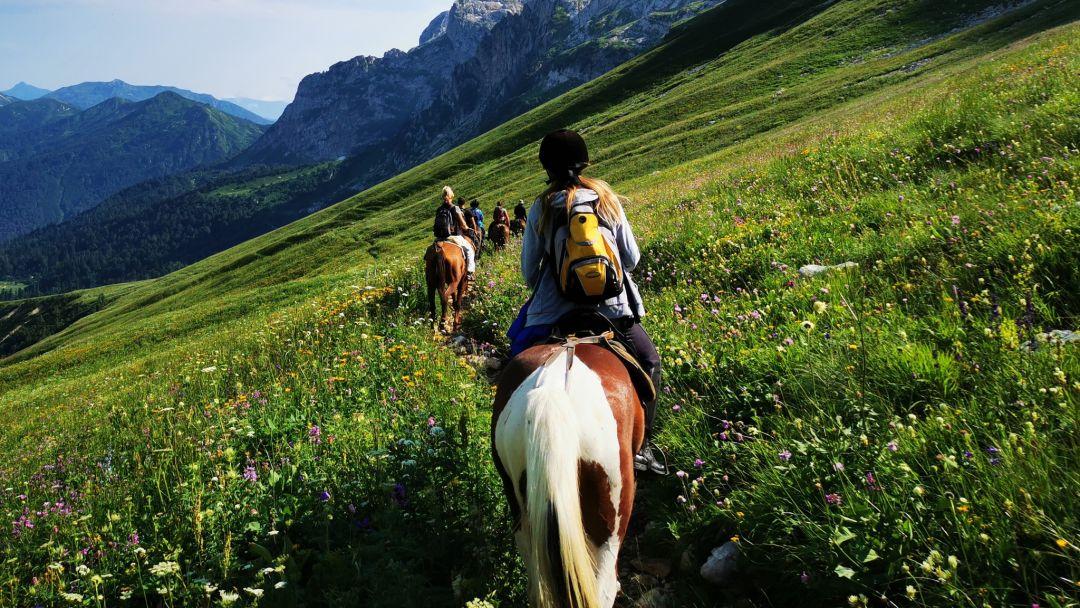 """На лошадях """"В Урочище Глубокая Балка"""" - фото 3"""