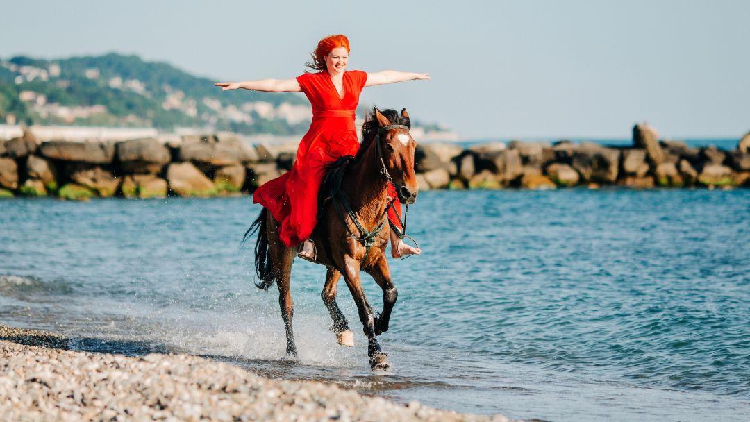 На лошадях к Черному морю - фото 2