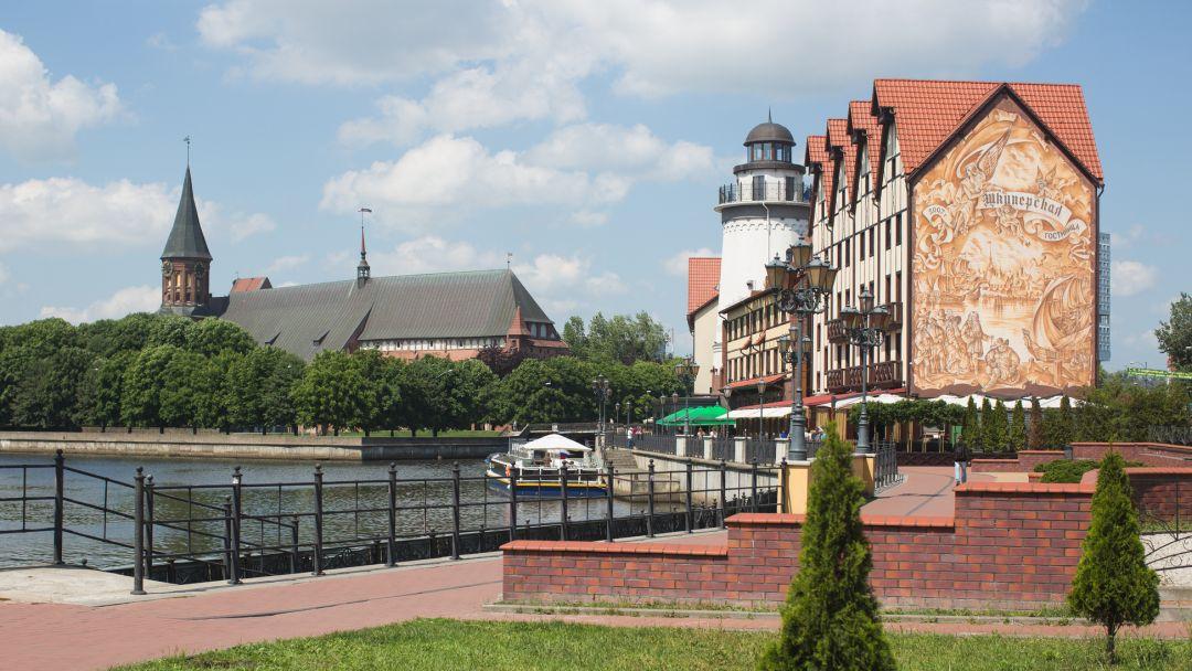 «Лес Генриха» - в край императорских угодий. г.Славск+монастырь Святой Елисаветы в Калининграде
