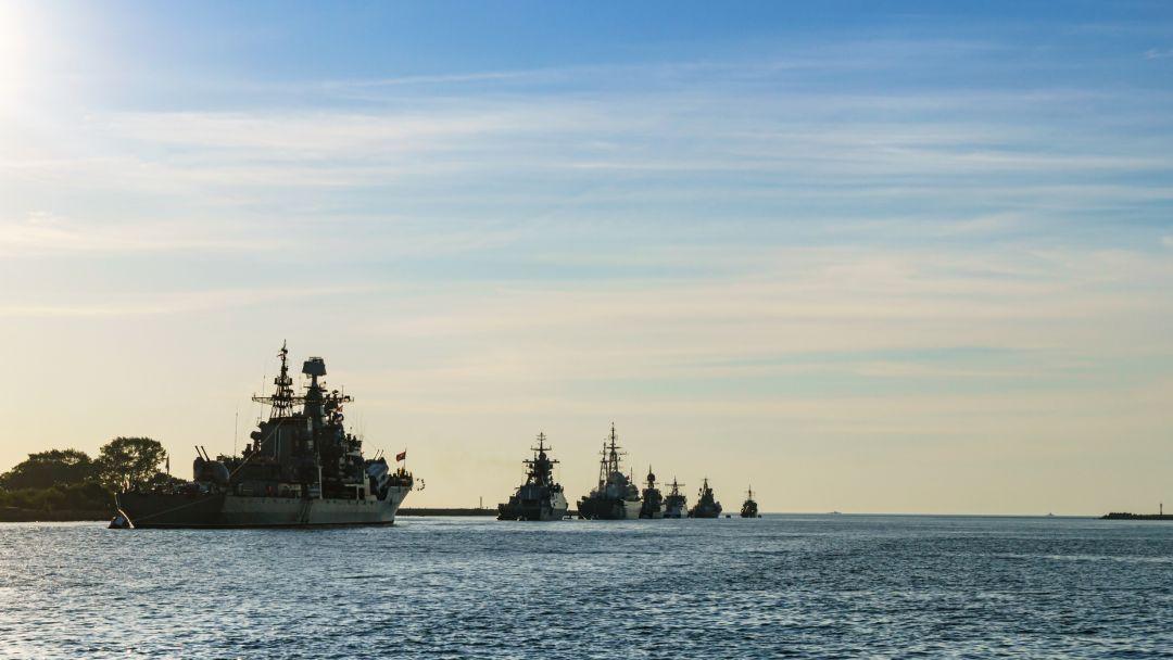 Балтийск - город Военно-Морского Флота в Калининграде