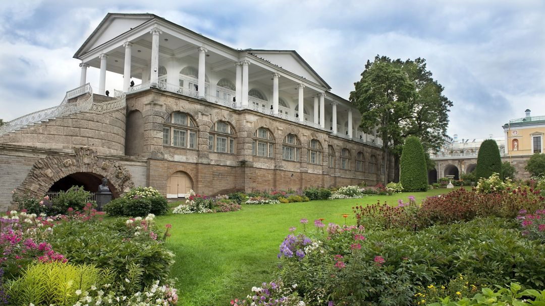 Пушкин (Царское Село)+ Екатерининский дворец +Янтарная комната - фото 2