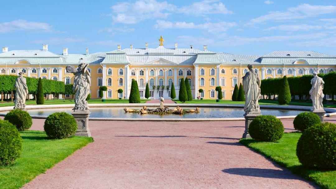 Петергоф + большой дворец+малый дворец+парк+фонтаны - фото 2