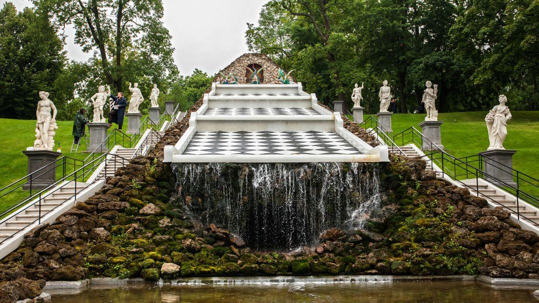 Петергоф + большой дворец+малый дворец+парк+фонтаны - фото 3
