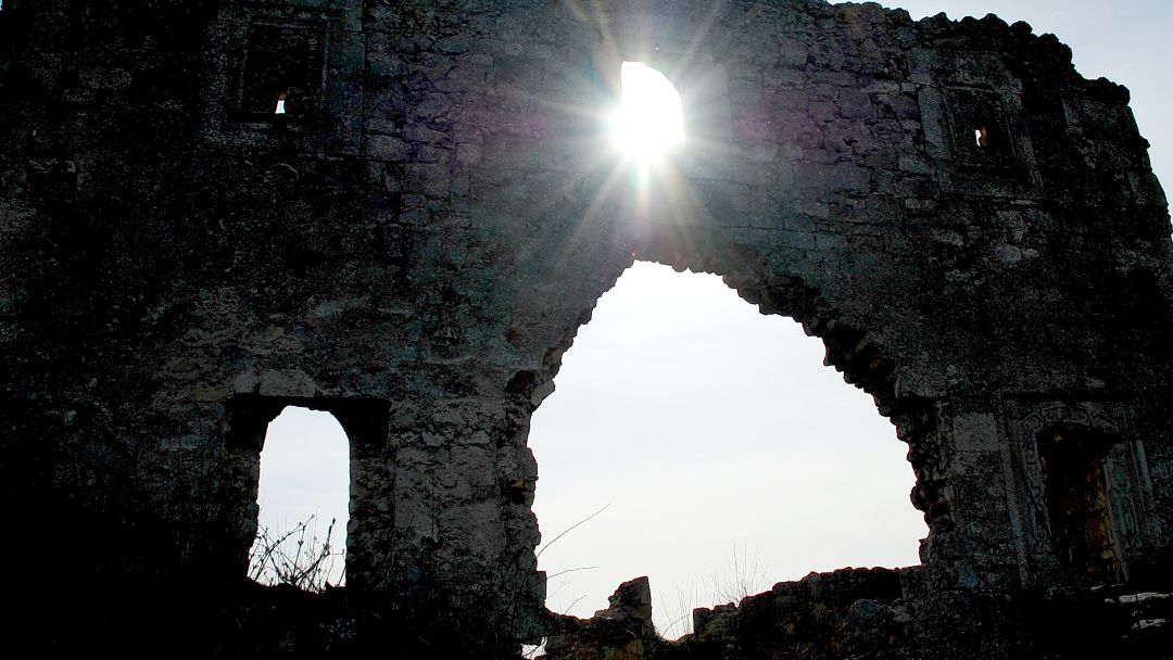 Мангуп-Кале - город в поднебесье - фото 4