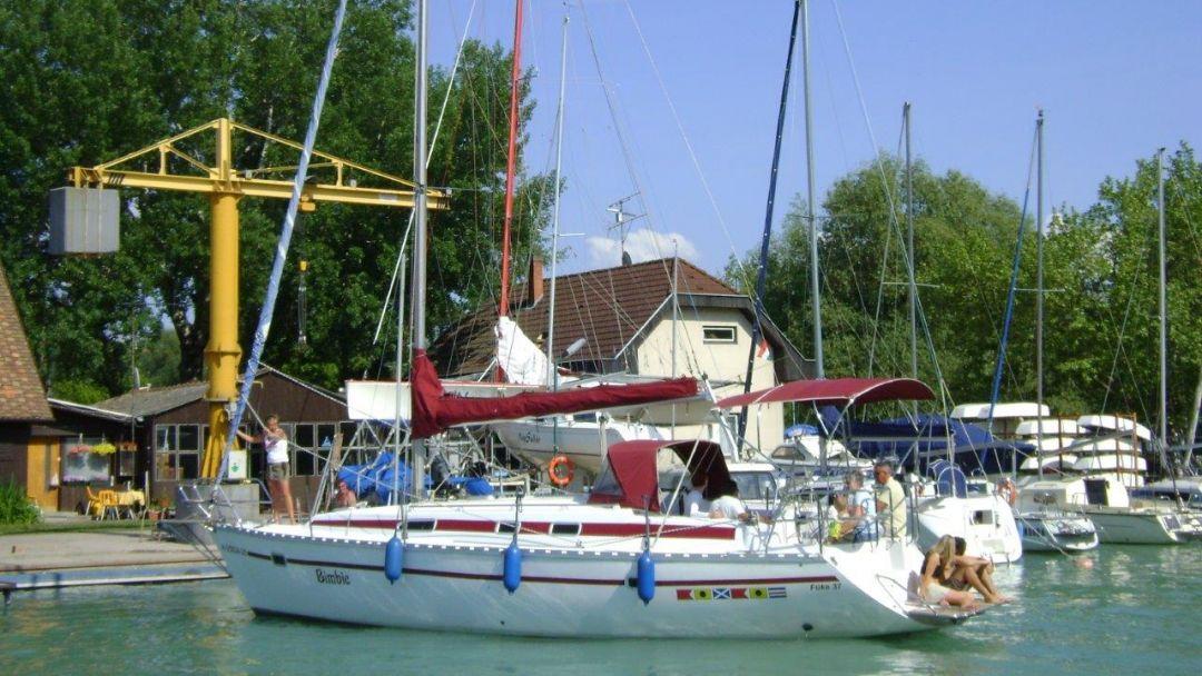 Прогулка на парусной яхте по Балатону - фото 5