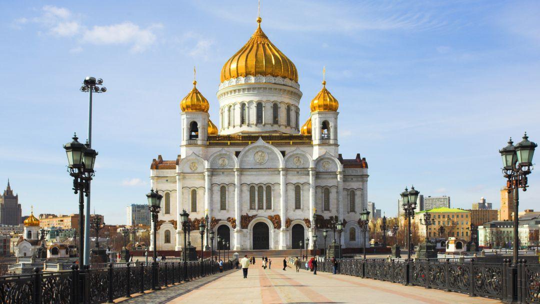Храм Христа Спасителя + 4 смотровые площадки! в Москве