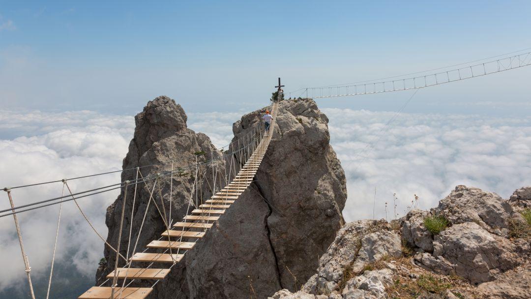 Дорога в облака в Гаспре