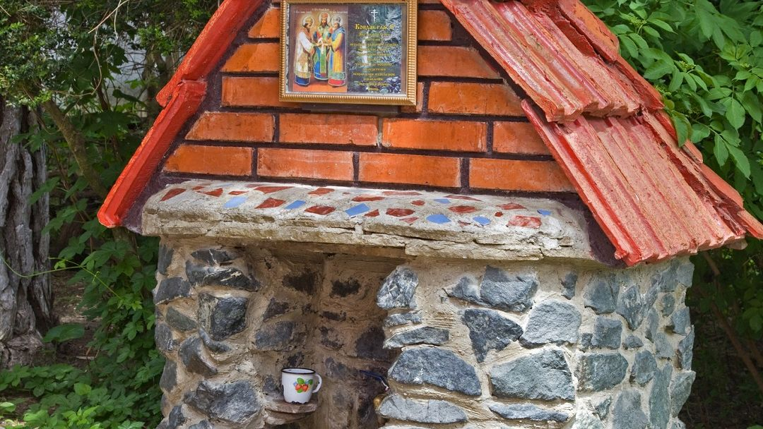 Топловский монастырь, Храм Петра и Павла. Поездка к мощам Святого Луки - фото 2