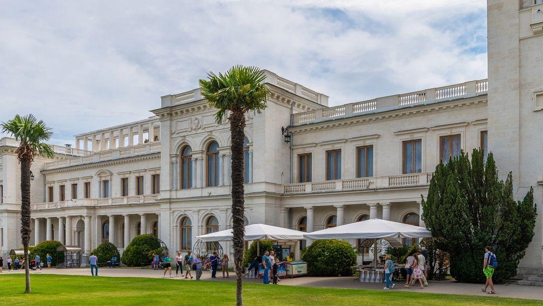 Дворцы Романовых в Гаспре