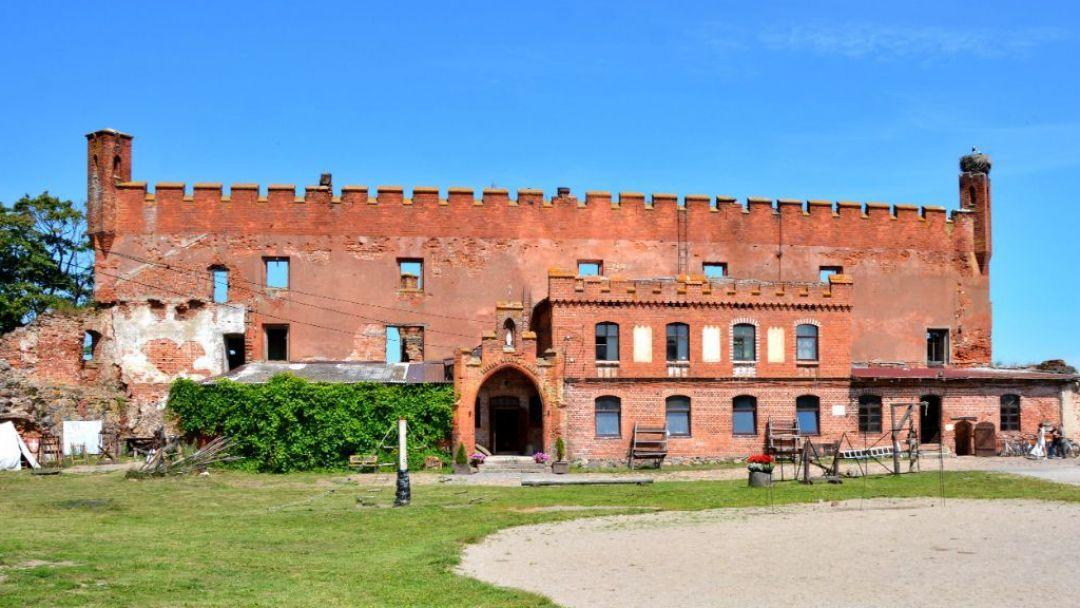 """""""Гастрономическое средневековье""""  руины замка Шаакен, сыроварня «Шаакендорф» с дегустацией, замок-отель Нессельбек"""
