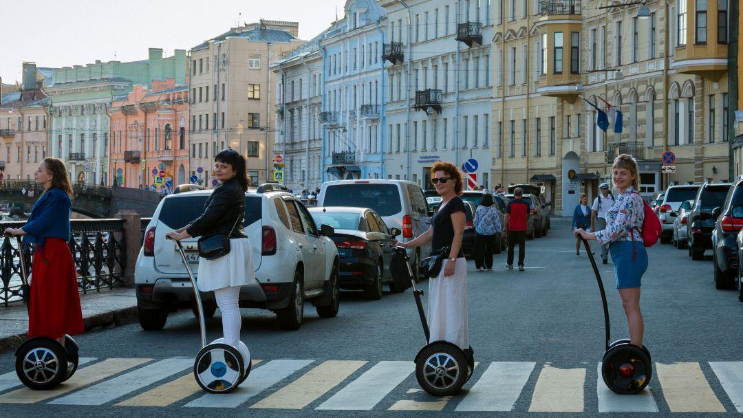 Тематическая на сегвее - Революционный Петербург - фото 6