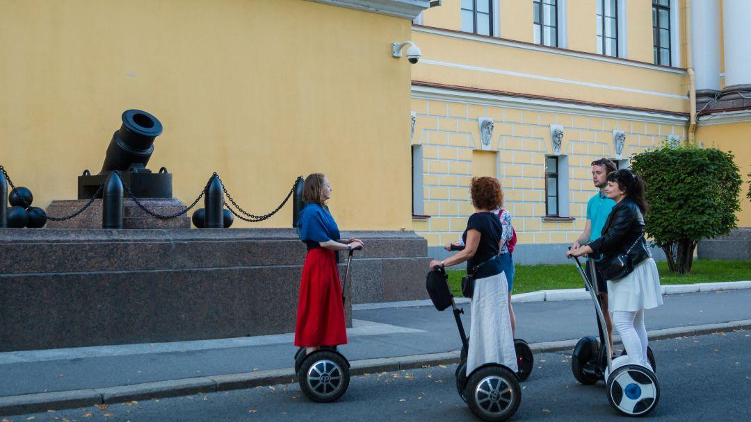 Тематическая на сегвее - Революционный Петербург - фото 7
