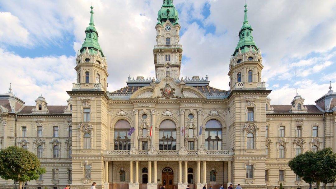 """Старинный Дьёр - """"город балкончиков"""" и аббатство Паннохалма - фото 9"""