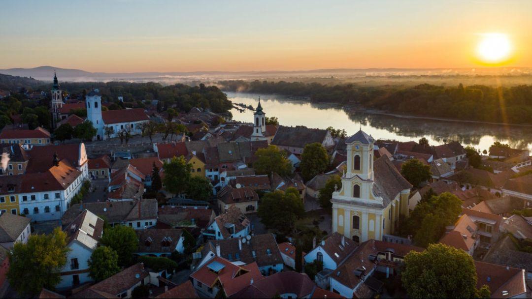 Полет на самолете над Будапештом и Сентендре - фото 11