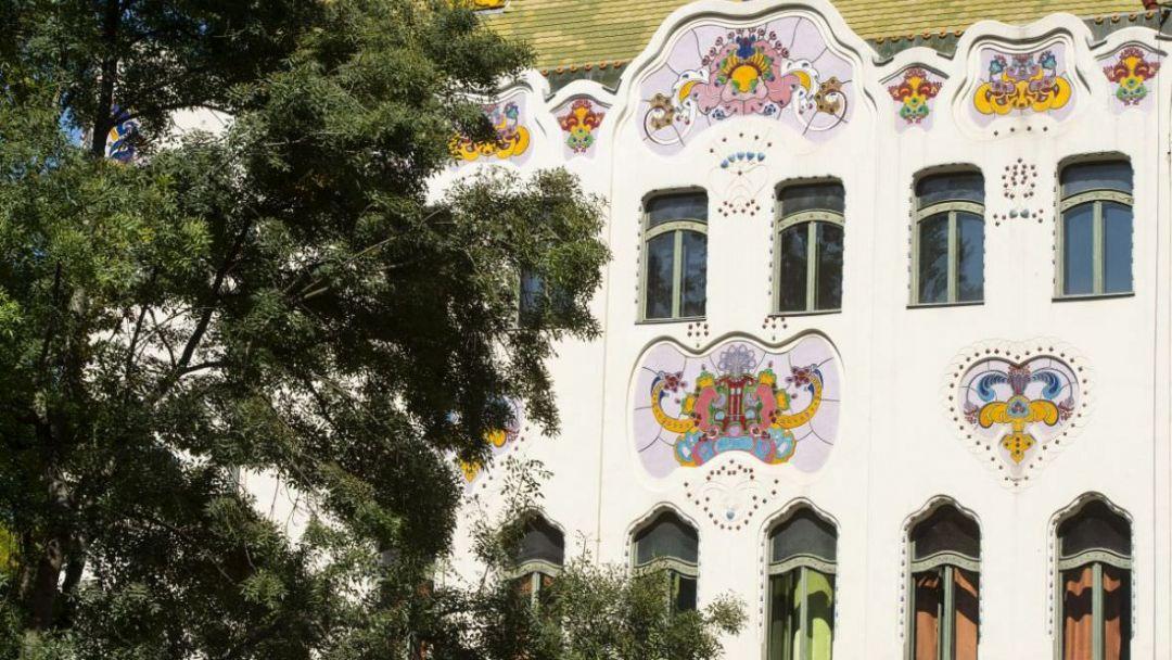 Кечкемет - изысканный сецессион в городских постройках - фото 5