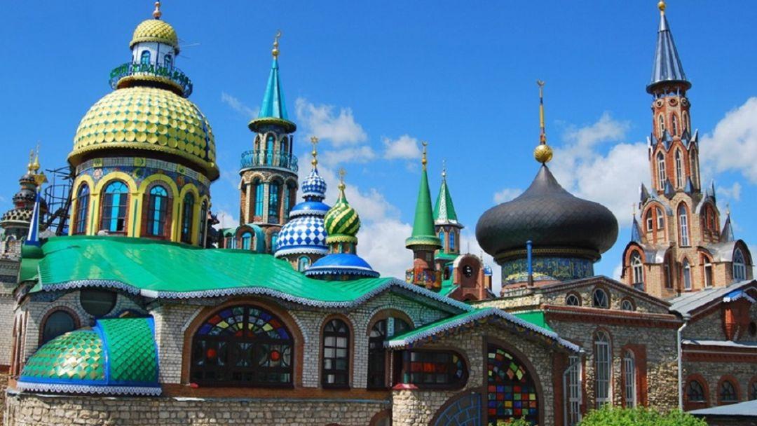 Остров-град Свияжск + Раифский Монастырь + Храм всех религий + Верхний Услон (с теплоходом) - фото 4
