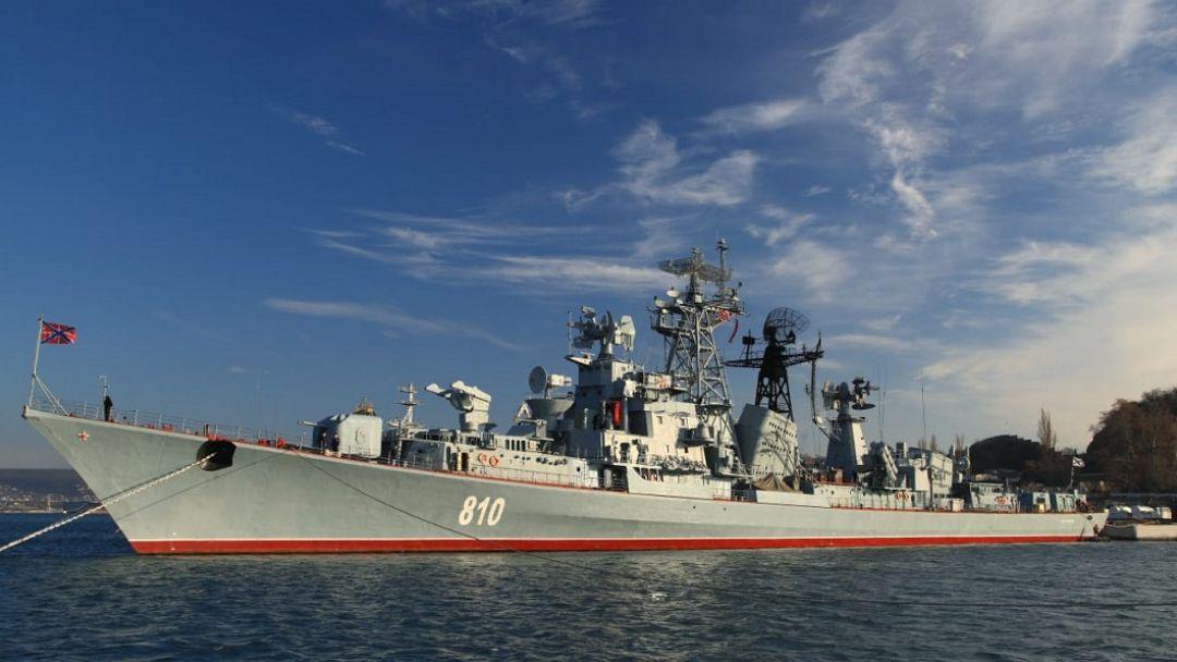 """Экскурсия на боевой корабль """"Сметливый"""""""