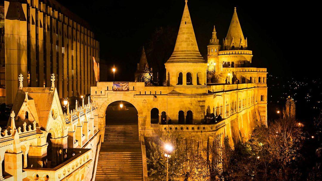 Игра света и тени - прогулка по вечернему Будапешту - фото 4