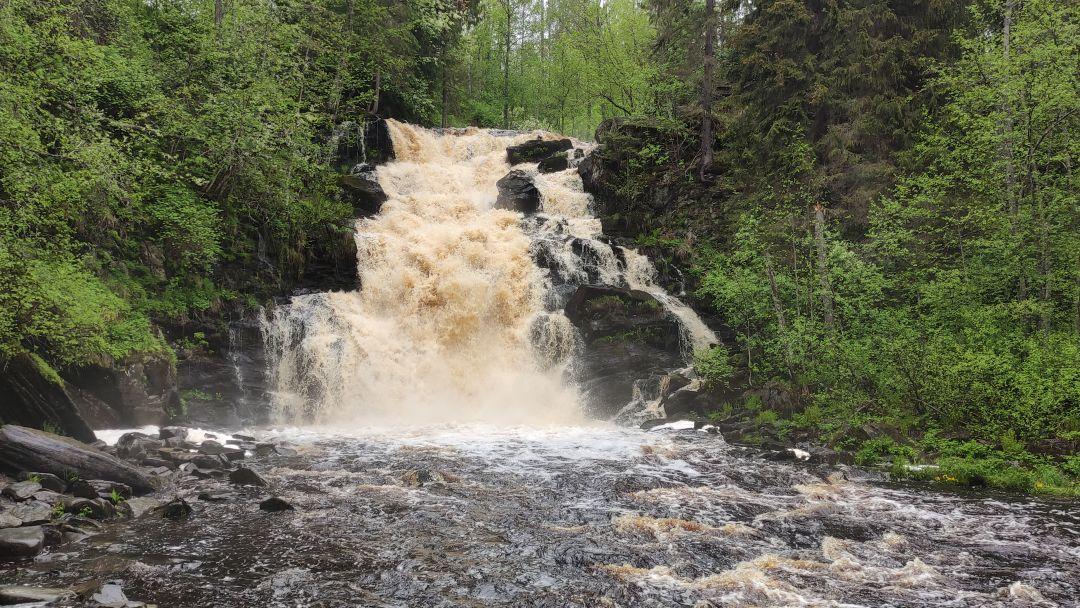 7 водопадов южной Карелии. в Сортавале