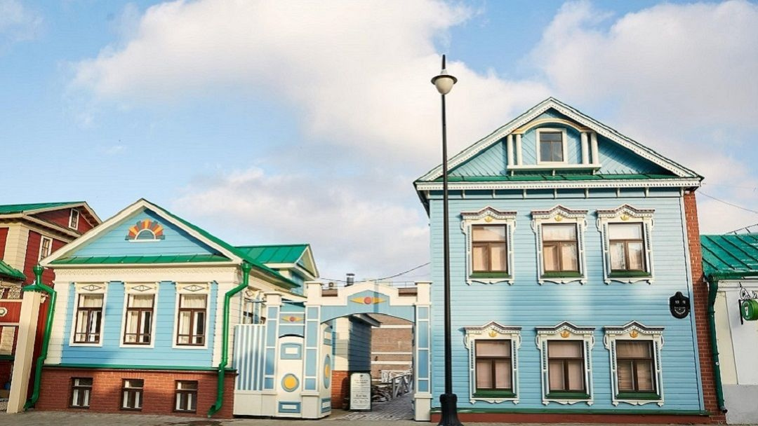 Деревянная Казань в Казани