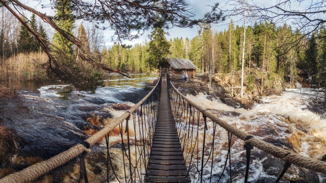 Рускеала + водопады Белые мосты за 1-н день в о Сортавале