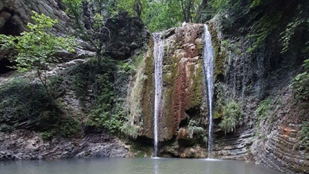 """Водопады """"Две сестры"""" в Туапсе"""