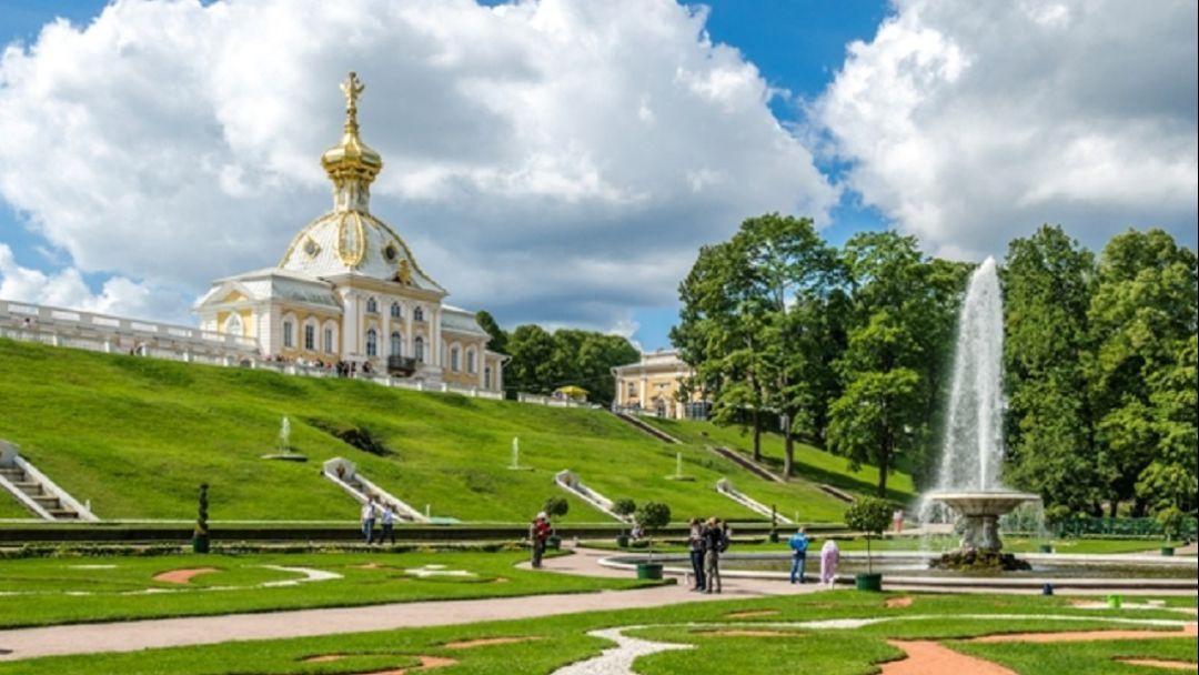 Парк и фонтаны Петергофа. Автобус и метеор. - фото 3