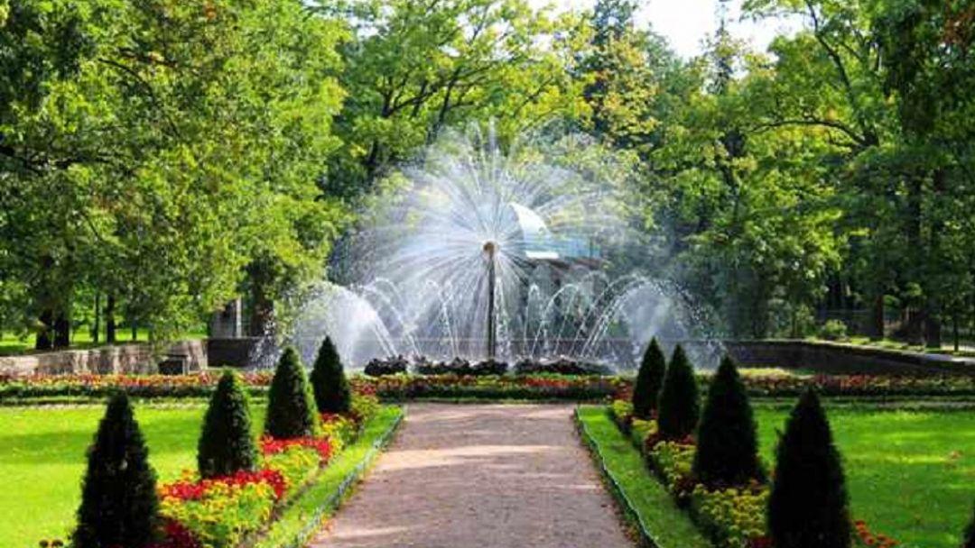 Парк и фонтаны Петергофа. Автобус и метеор. - фото 5