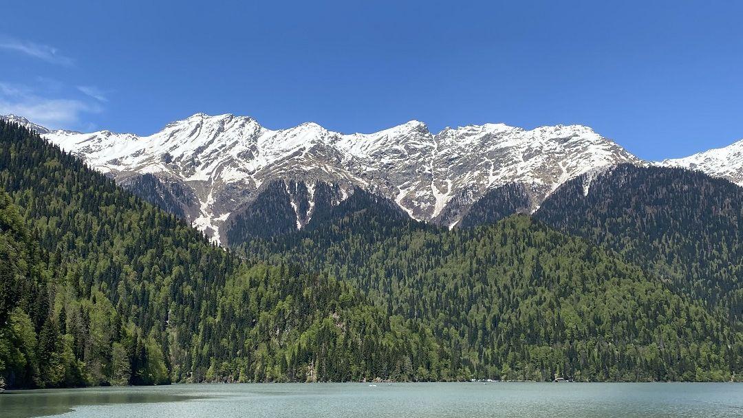 Абхазия Озеро Рица - фото 2