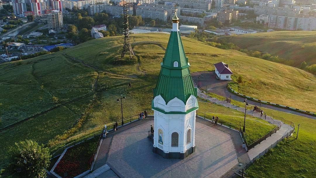 Красноярск, Дивногорск, Красноярская ГЭС, Красноярское море и остров. в Красноярске