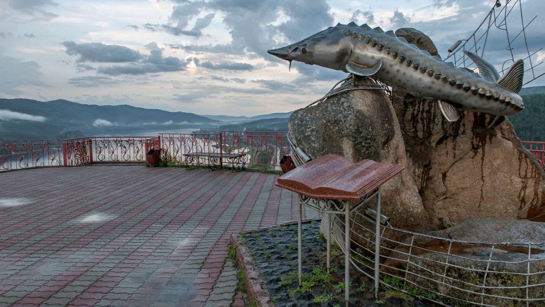Красноярск, Дивногорск, Красноярская ГЭС, Красноярское море и остров. - фото 3