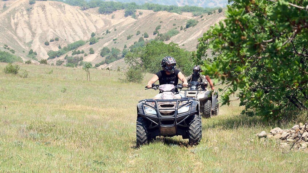 Квадроциклы: Лавандовое поле в Судаке
