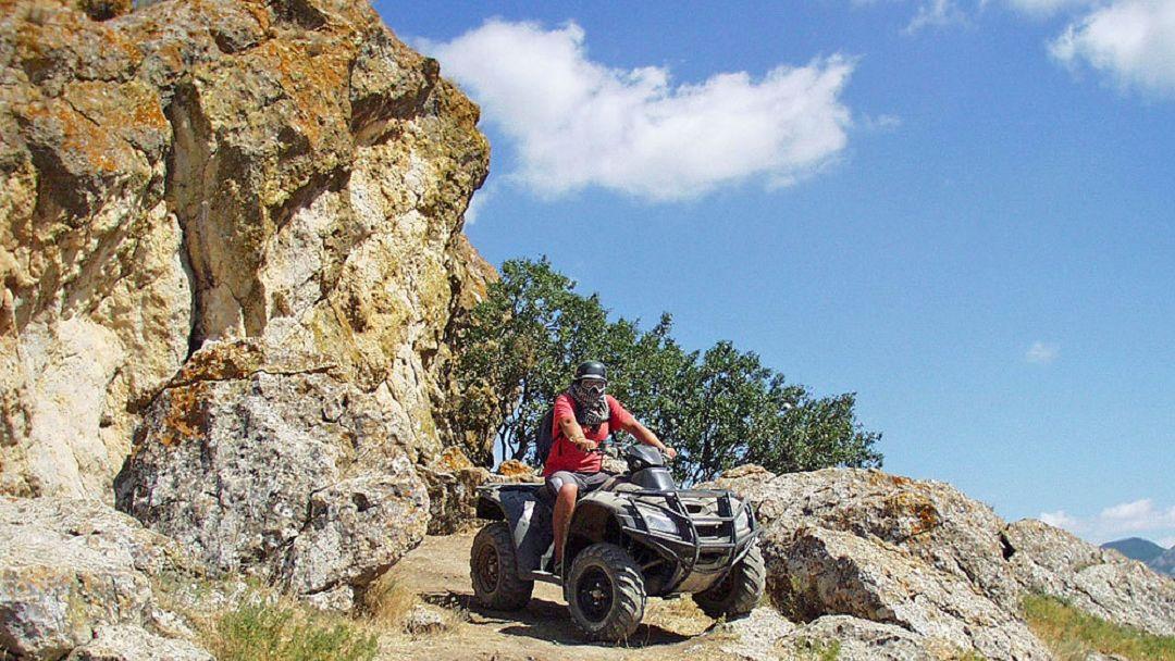 Квадроциклы: Поездка на мыс Толстый в Судаке