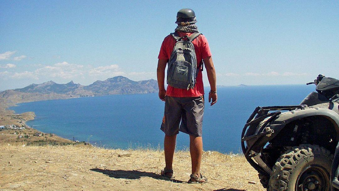 Квадроциклы: Поездка на мыс Толстый - фото 2