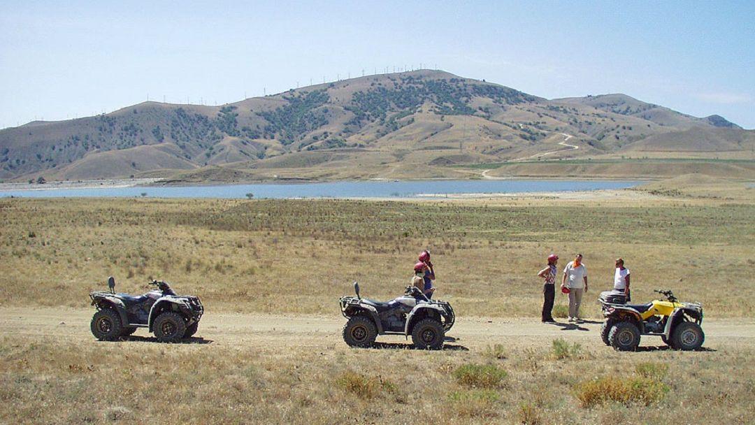 Квадроциклы: Поездка на мыс Толстый - фото 3