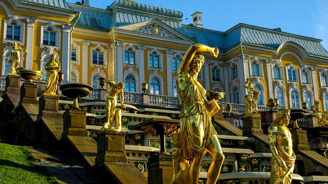 Кронштадт - Петергоф  в Санкт-Петербурге