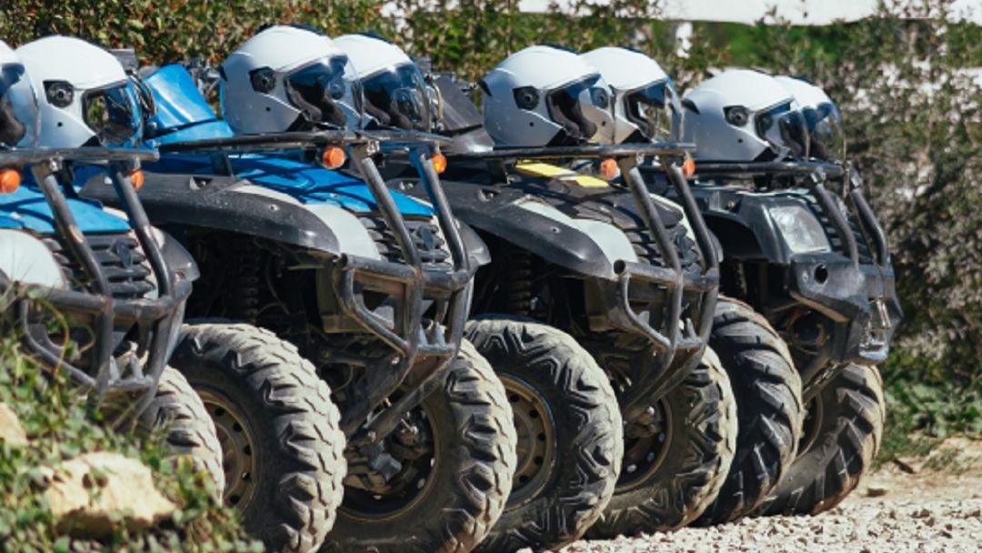 Квадроциклы: Чернореченский каньон в Севастополе
