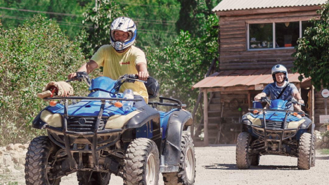Квадроциклы: Чернореченский каньон - фото 2