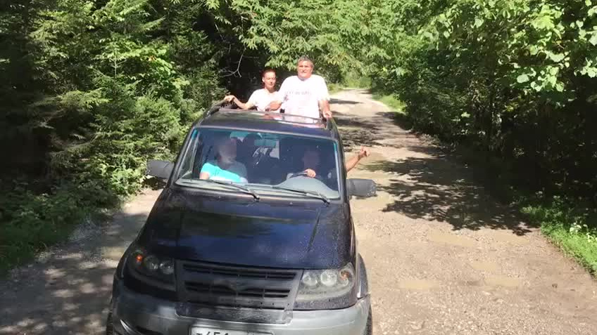 Джип-тур в Абхазию с купанием в море. Другой уровень. - видео 3