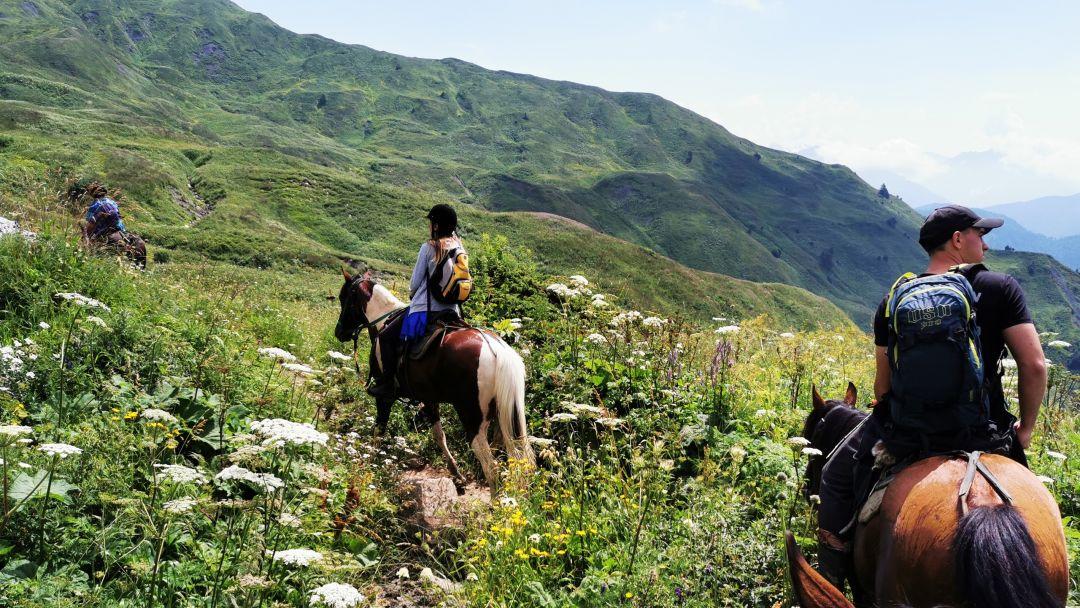 Конные прогулки, маршрут: Ай-Тодорская долина - фото 2