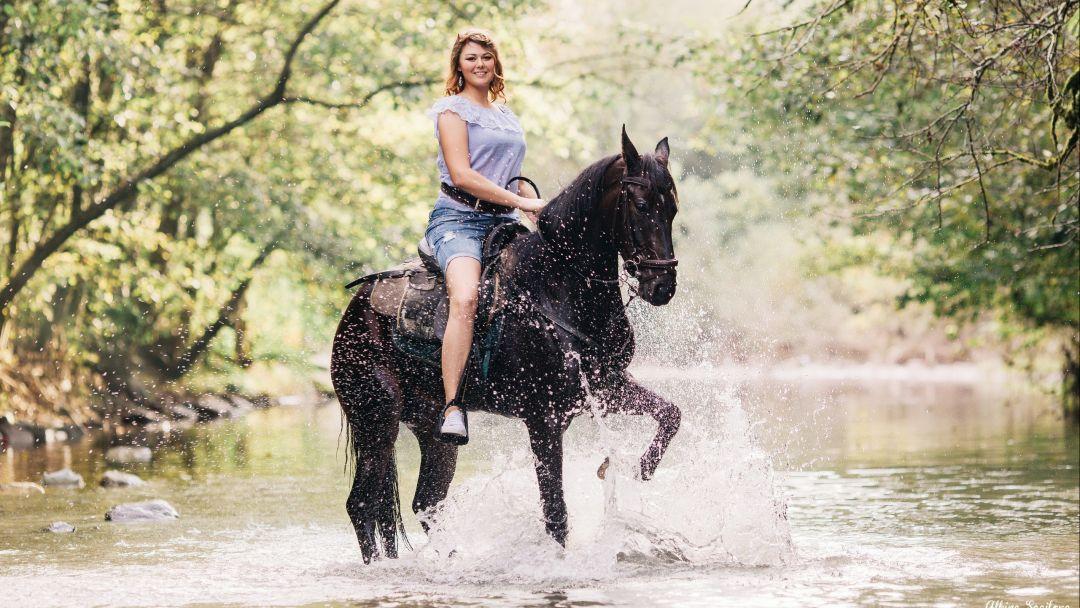 Конные прогулки, маршрут: Долина Кара-Коба в Севастополе