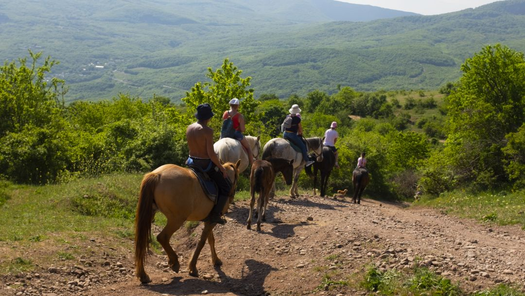 Конные прогулки, маршрут: Долина Кара-Коба - фото 2