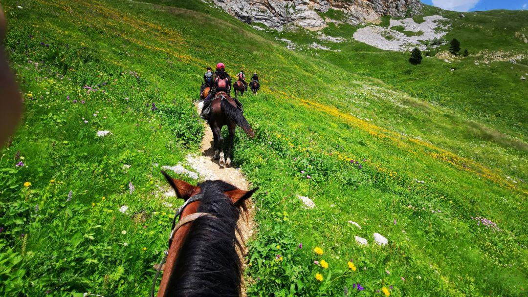 Конные прогулки, маршрут: Долина Кара-Коба - фото 3